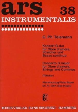TELEMANN - Konzert G-Dur - Sheet Music - di-arezzo.com