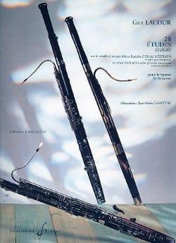 Guy Lacour - 28 Estudios sobre modos de Messiaen - Partitura - di-arezzo.es