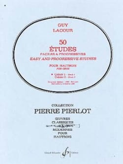 Guy Lacour - 50 Easy and Progressive Studies notebook 1 - Sheet Music - di-arezzo.com
