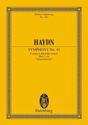 Sinfonie Nr. 44 e-moll - HAYDN - Partition - laflutedepan.com