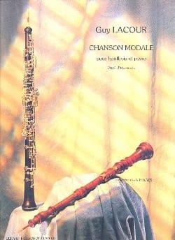 Guy Lacour - Modal song - Sheet Music - di-arezzo.com