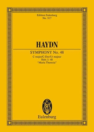 HAYDN - Sinfonie Nr. 48 C-Dur - Sheet Music - di-arezzo.co.uk