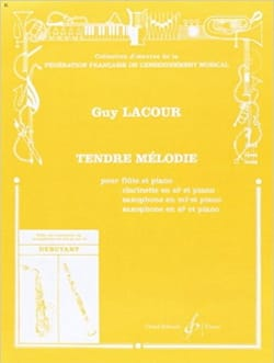 Tendre mélodie - Guy Lacour - Partition - laflutedepan.com