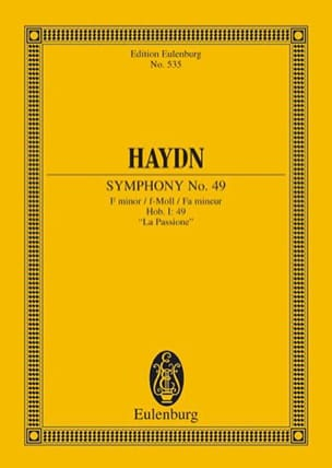 HAYDN - Sinfonie Nr. 49 f-moll - Sheet Music - di-arezzo.co.uk
