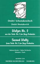 CHOSTAKOVITCH - Walzer Nr. 2 - Salonorchester - Stimmen - Sheet Music - di-arezzo.co.uk
