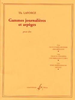 Th. Laforge - Gammes journalières et arpèges - Partition - di-arezzo.fr