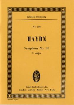 Sinfonie Nr. 50 C-Dur - HAYDN - Partition - laflutedepan.com