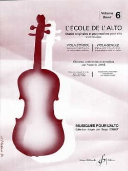Frédéric Lainé - The viola school Volume 6 - Sheet Music - di-arezzo.com