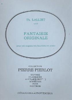 Theodore Lalliet - Original Fantasy, Op. 6 - English Horn-Piano - Partitura - di-arezzo.es