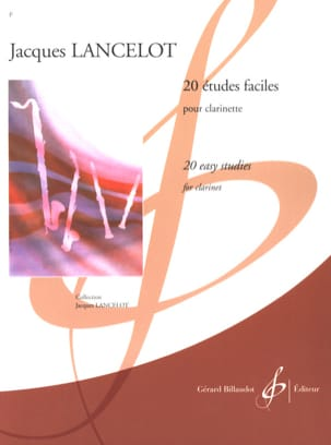 Jacques Lancelot - 20 Easy studies - Sheet Music - di-arezzo.co.uk
