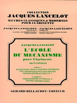 Jacques Lancelot - School of Mechanism - Volume 2 - Sheet Music - di-arezzo.com