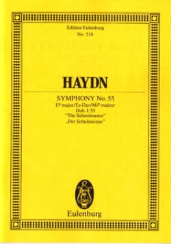 Joseph Haydn - Symphonie Nr. 55 Es-Dur - Partition - di-arezzo.fr