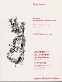 Serge Lancen - Concerto - Double bass - Sheet Music - di-arezzo.co.uk