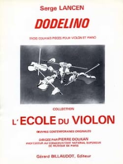 Dodelino Serge Lancen Partition Violon - laflutedepan