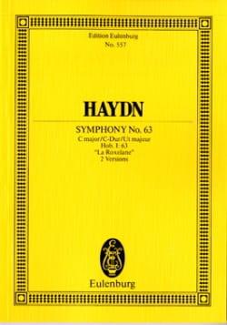 Joseph Haydn - Sinfonie Nr. 63 C-Dur - Partition - di-arezzo.fr