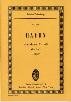 Joseph Haydn - Symphonie Nr. 69 C-Dur - Partition - di-arezzo.fr