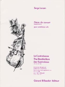 Serge Lancen - Concert Pieces - Sheet Music - di-arezzo.co.uk