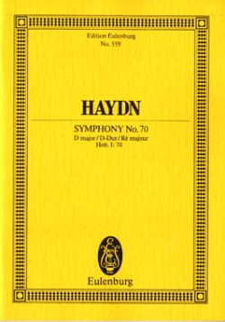 Sinfonie Nr. 70 D-Dur - Joseph Haydn - Partition - laflutedepan.com