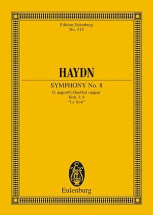 HAYDN - Sinfonie Nr. 8 G-Hard at night - Sheet Music - di-arezzo.com