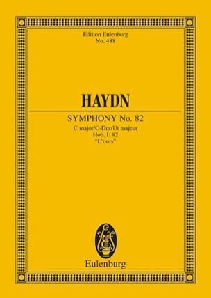 Sinfonie Nr. 82 C-Dur L' Ours HAYDN Partition laflutedepan