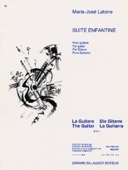 Suite Enfantine - Marie-Jose Latorre - Partition - laflutedepan.com
