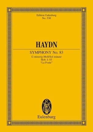 Symphonie N° 83- G-Moll la Poule Hob. I : 83 - laflutedepan.com