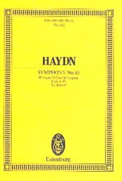 HAYDN - Sinfonie Nr. 85 B-Dur - Partition - di-arezzo.co.uk