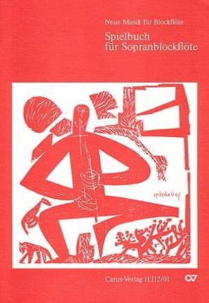 - Spielbuch Für Sopranblockflöte - Partition - di-arezzo.fr