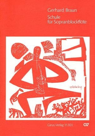 Schule für Sopranblockflöte - Gerhard Braun - laflutedepan.com