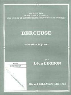 Berceuse - Léon Legron - Partition - laflutedepan.com