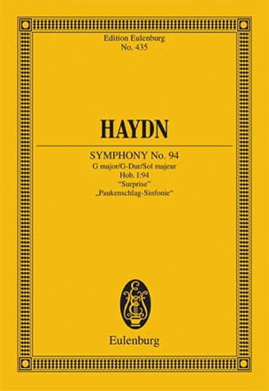 HAYDN - Sinfonie Nr. 94 G-Dur the Surprise - Sheet Music - di-arezzo.co.uk