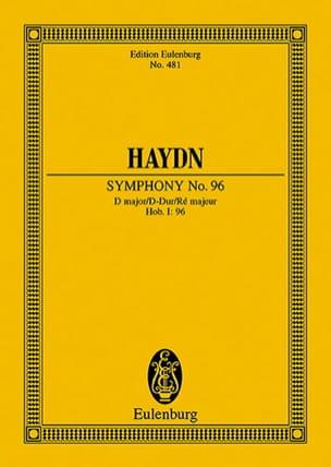 Sinfonie Nr. 96 D-Dur HAYDN Partition Petit format - laflutedepan