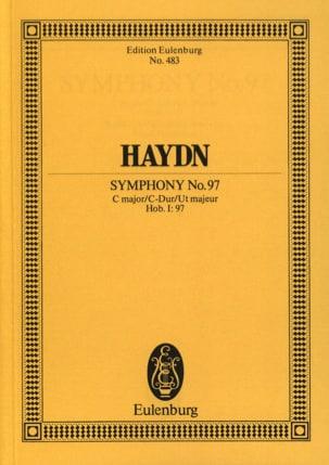 Joseph Haydn - Sinfonie N° 97 C-Dur - Partition - di-arezzo.fr