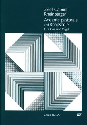 Joseph Rheinberger - Andante pastoral y rapsodia - Oboe u. Orgel - Partitura - di-arezzo.es