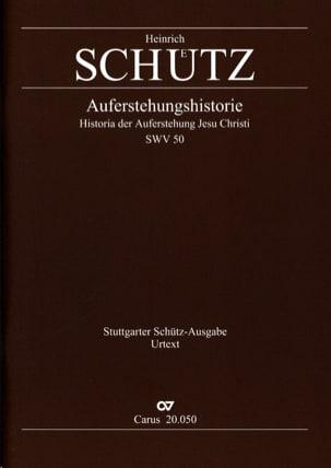 Heinrich Schütz - Auferstehungs-Historie - Sheet Music - di-arezzo.com