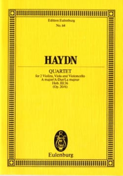 Streich-Quartett A-Dur op. 20 n° 6 - HAYDN - laflutedepan.com