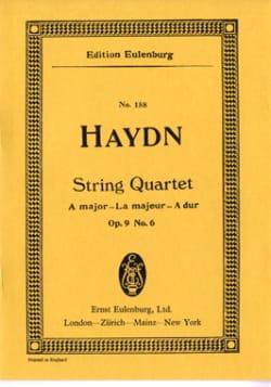 Streich-Quartett A-Dur op. 9 n° 6 - Joseph Haydn - laflutedepan.com