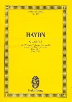 Streich-Quartett A-Dur op. 2 n° 1 - Joseph Haydn - laflutedepan.com