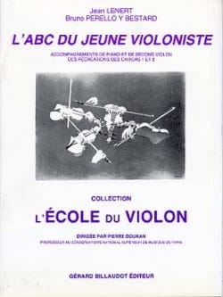 Lenert Jean / Perollo Y Bestard Bruno - The abc of the young violinist - Accomp. Piano - Sheet Music - di-arezzo.com