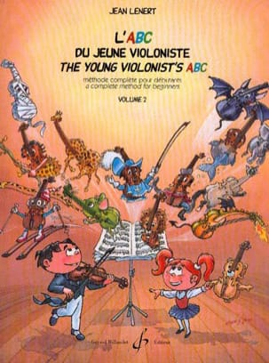 Jean Lenert - The Abc Young Violinist Volume 2 - Sheet Music - di-arezzo.com