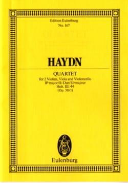 Joseph Haydn - Streich-Quartett B-Dur op. 50 n° 1 - Partition - di-arezzo.fr