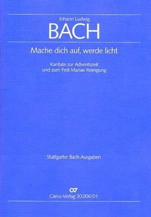 Johann Ludwig Bach - Mache dich auf, werde licht - Sheet Music - di-arezzo.com