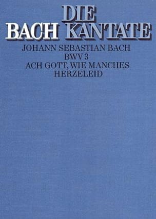 Cantate Ach Gott, Wie Manches Herzeleid BWV 3 - laflutedepan.com