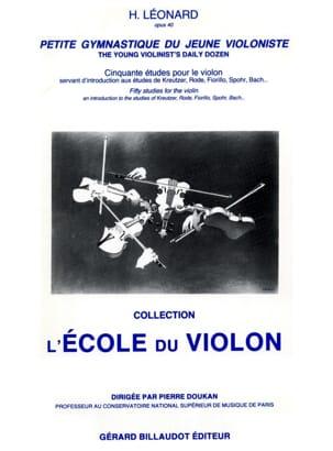 Petite Gymnastique du Jeune Violoniste Op. 40 - laflutedepan.com