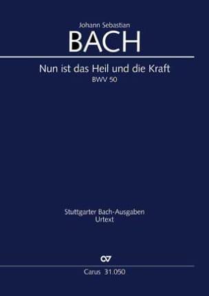 BACH - Nun ist das Heil and die Kraft - Sheet Music - di-arezzo.com
