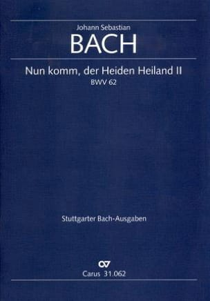 BACH - Cantate Nun Komm, Heiden Heiland 2 BWV 62 - Sheet Music - di-arezzo.co.uk