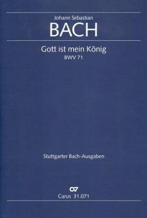 Johann Sebastian Bach - Gott ist mein König - Partition - di-arezzo.fr