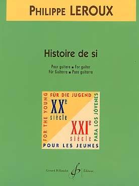 Histoire de si - Philippe Leroux - Partition - laflutedepan.com