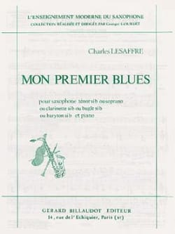 Charles Lesaffre - My first Blues - Sheet Music - di-arezzo.co.uk