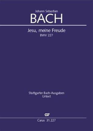 BACH - Jesu, meine Freude BWV 227 - Partition - di-arezzo.fr